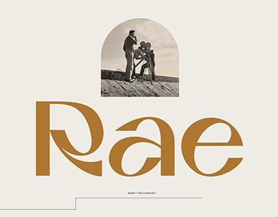 Rae Typeface
