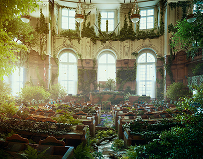Nature takes over the Parliament