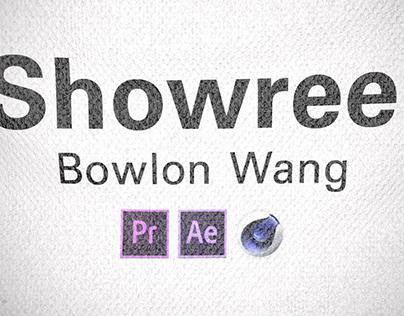 2014~16 showreel video effect