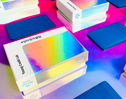 Samsung Card YOUNG LAB card wallet promotion