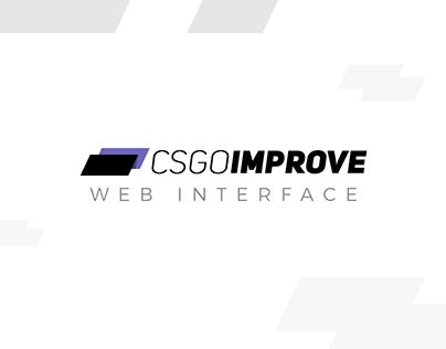CSGOIMPROVE - Webdesign