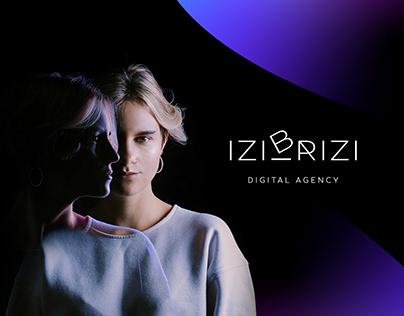 Digital Agency IZIBRIZI - Branding Design
