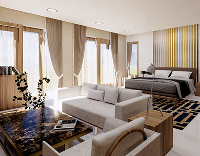 3D Visualization Master Bedroom