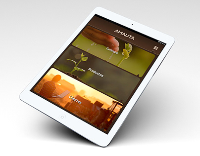 AMAUTA - App / Website / Brochure