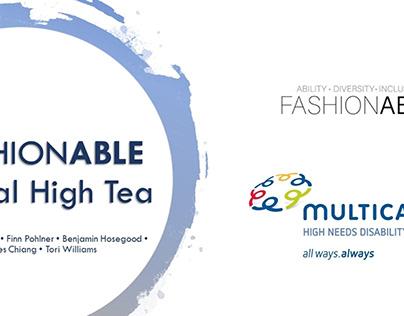 Design Intensive Project - FashionAble Virtual High Tea