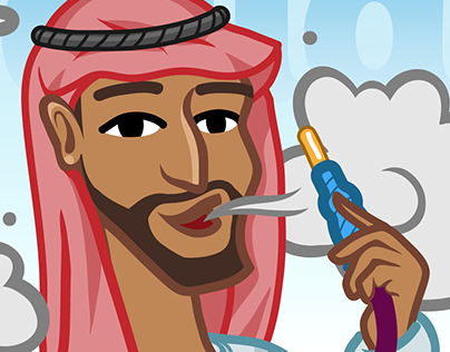 Yalla! - Arabian Stickers for ICQ Messenger