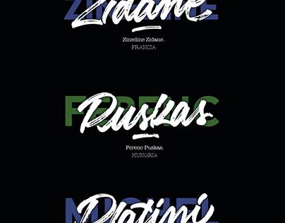 Handmade lettering - Los 10