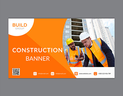 Construction or Industries Web Banner Template