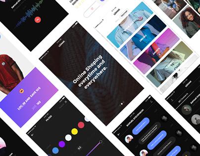 UI KIT Design (30+ IOS Screens)