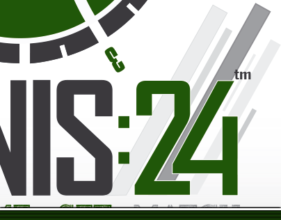 CLIENT : TENNIS24 - GRAPHIC DESIGN / LOGOTYPE