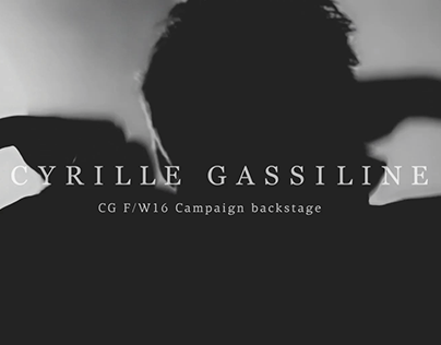 Cyrille Gassiline Fall/Winter 2016 Campaign