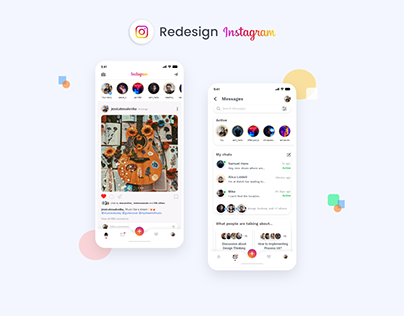 Redesign Instagram App