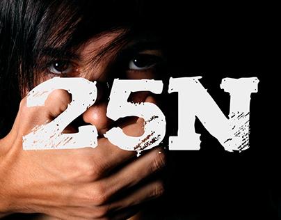 Cartel - 25N Día contra la Violencia de Género