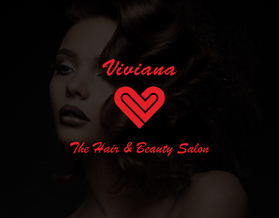 Viviana Salon : Logo Design