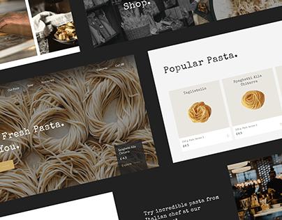 Pasta Boutique-Restaurant | Landing Page
