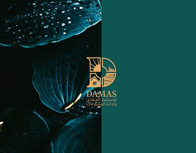 Damas logo & Identity