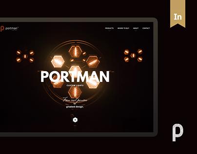 PORTMAN - custom lights