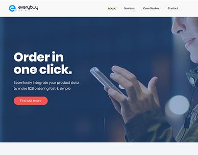 Everybuy Website Mockup