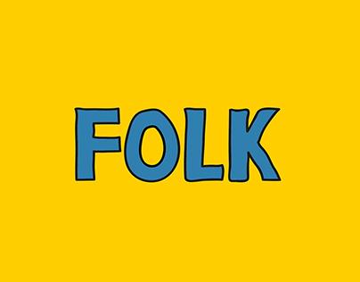 'Folk'   Abstract Illustrations