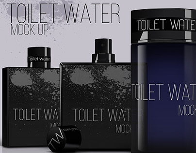 Toilet Water mock up