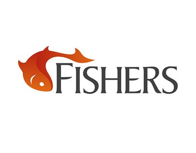 Fishers Logo Design