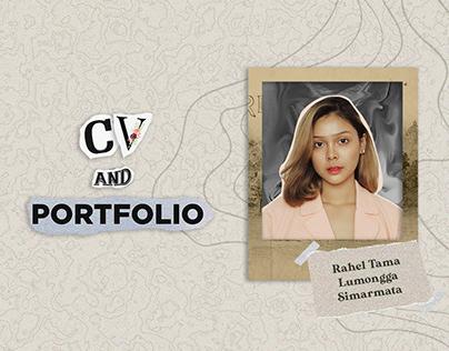 CV AND PORTOFOLIO