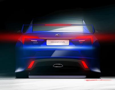 Subaru VIZIV 3 STI Concept