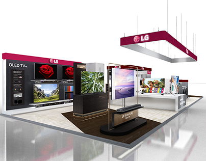 LG Shop in Shop @France