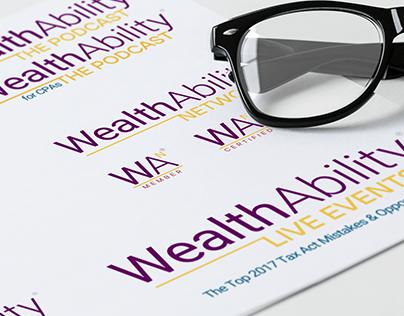 WealthAbility Ancillary Product Brand Identity