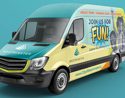 Vehicle Wrap for City of Westminster