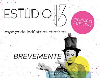 Estúdio 13 - espaço de indústrias criativas