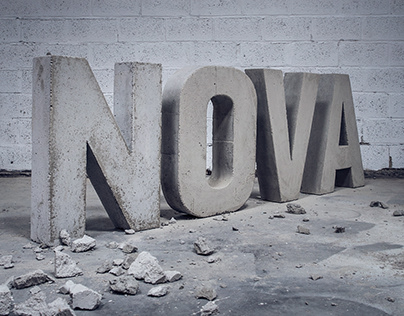 Stone typography for CC NOVA
