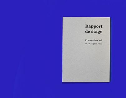 Rapport de Stage BTS 2