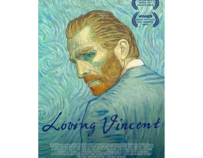 Loving Vincent painting animation
