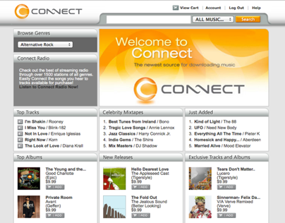 Sony Connect Online Music Store (2005)