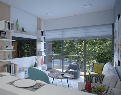 Interior Design Apartment 102