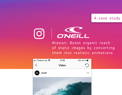 O´NEILL - Organic reach boost with realistic animations