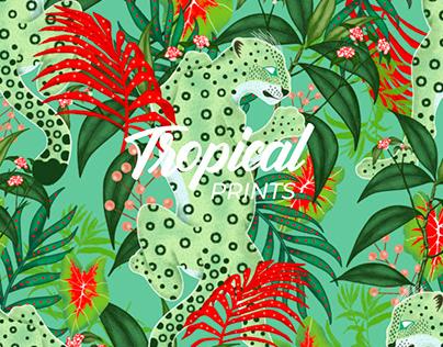 Tropical Prints - HUNK2 Men's Swimwear