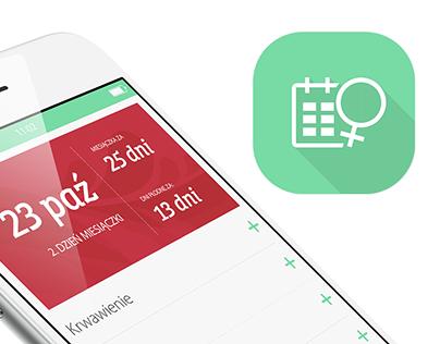 2015: Easy Period Calendar - mobile app