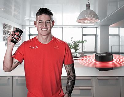 Ultra Wi-Fi con James - Claro