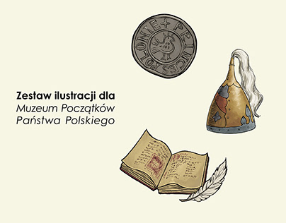 Ilustracji dla muzeum