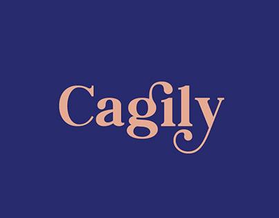 Cagily Display Font