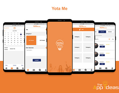 Mobile App Development - Yota Me