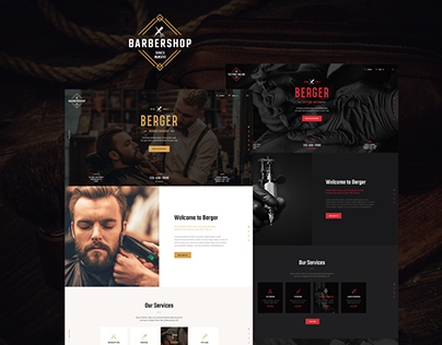 Berger | Barbershop & Tatoo WordPress Theme