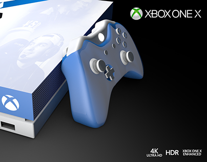 Xbox One X // Obey Alliance concept