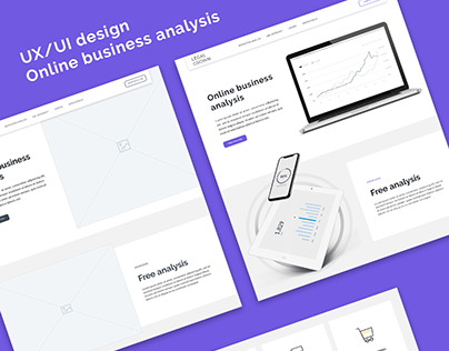 UX/UI Online business analysis