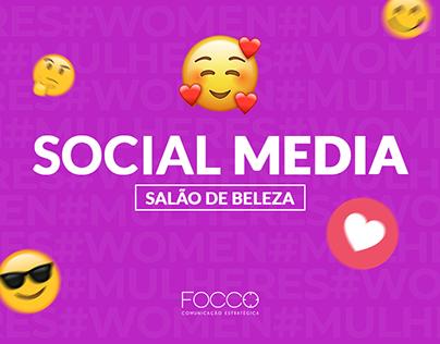 Social Media   Salão de Beleza
