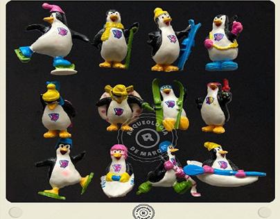 Pinguinos coleccionables de Bon Ice (1999)