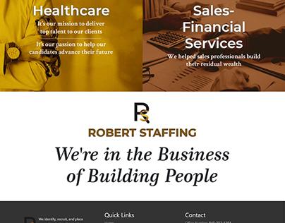 Web Design for RobertStaffing