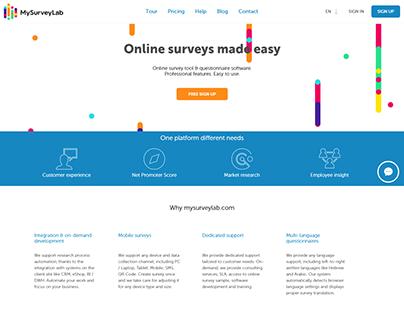 My Survey Lab Online survey tool & questionnaire web